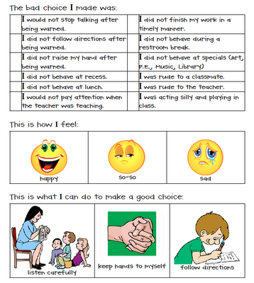 https://www.teacherspayteachers.com/Product/My-Behavior-Report-106599