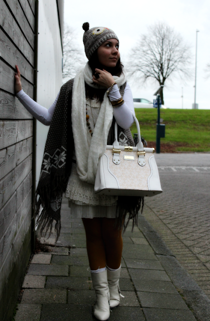Owl, fall, winter, dress, white, river island, vero moda, H&M, Fashion, winter, owl, autumn, grey, dress, white, river island, accessorize, primark