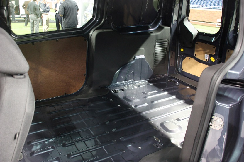 2014 Ford Transit Connect Van Interior