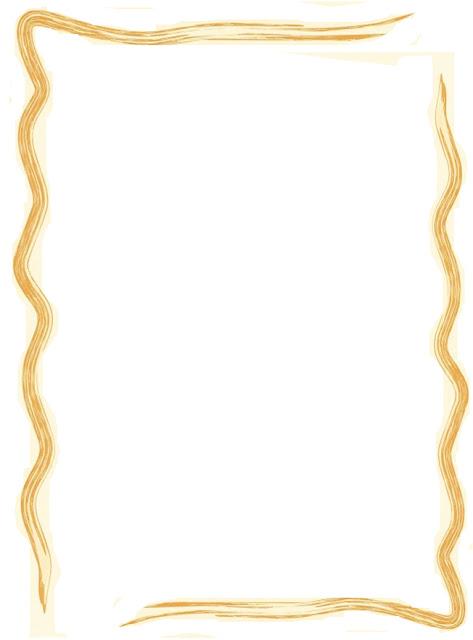 Bordes Dorados para invitaciones - Imagui