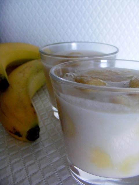 Banány v kokosovom mlieku