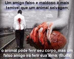 Falso amigo é pior que animal