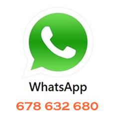 Mandanos un Whatsapp !!!!