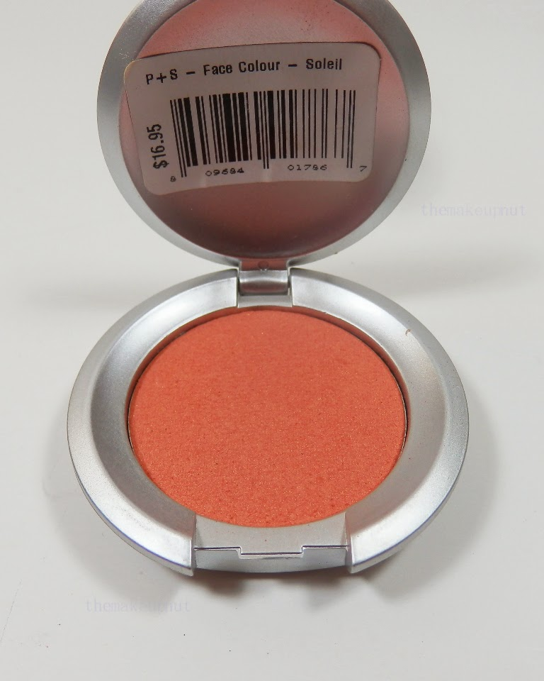 Pure+simple blush in Soleil