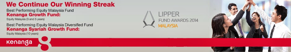 Kenanga Investors Berhad's won the Best Performing Equity Malaysia Fund