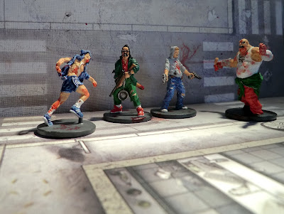 Zombicide Survivor Zombie action painted Josh Ned crazy Thug