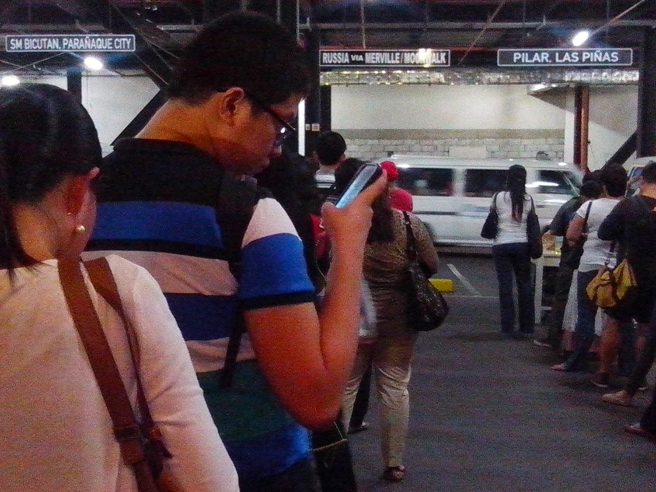 Shuttle Terminal at Park Square Makati