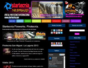 Startecnia Fireworks Pirotecnia