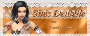 SIMS DENTELLE by Rosah21