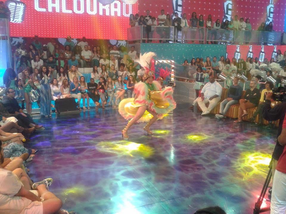 SCARLETH SANGALO no Programa ESQUENTA-REDE GLOBO-RIO DE JANEIRO