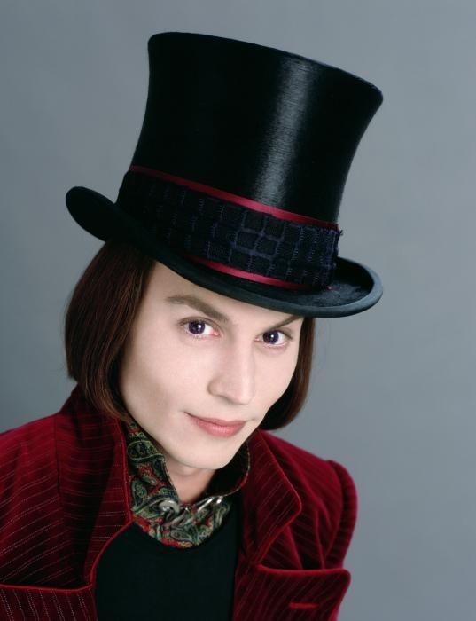 Music N' More: Johnny Depp Willy Wonka Johnny Depp