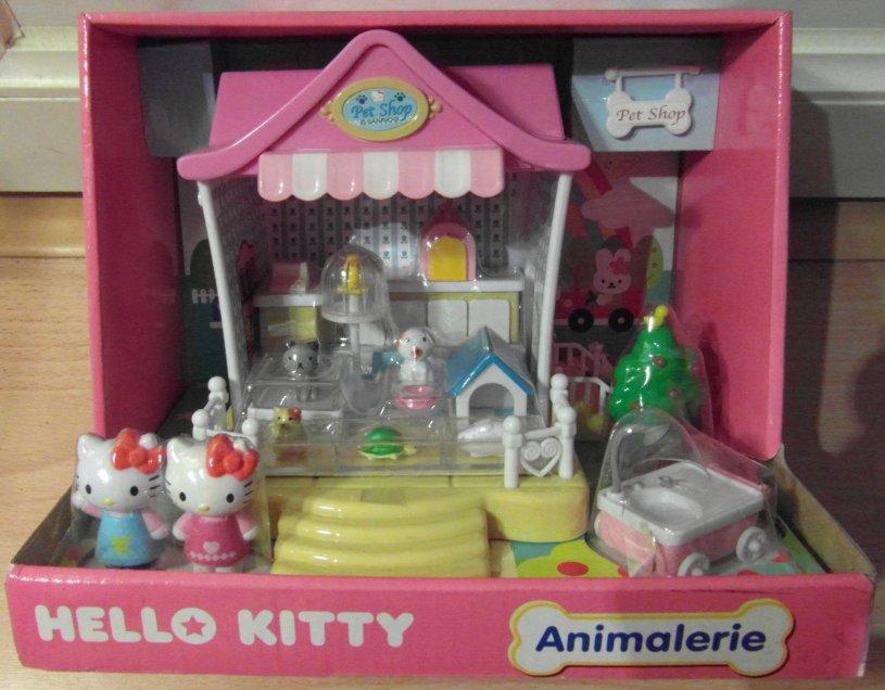 C 39 est trop bien la hello kitty animalerie - La maison de hello kitty ...