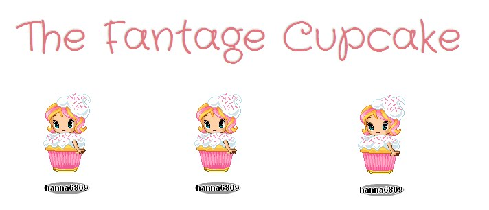 The Fantage Cupcake