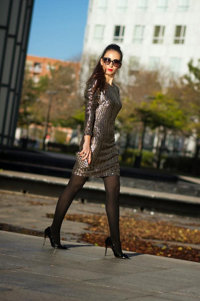 Outfit de Nochevieja propuesta de la blogger valenciana Withorwithoutshoes