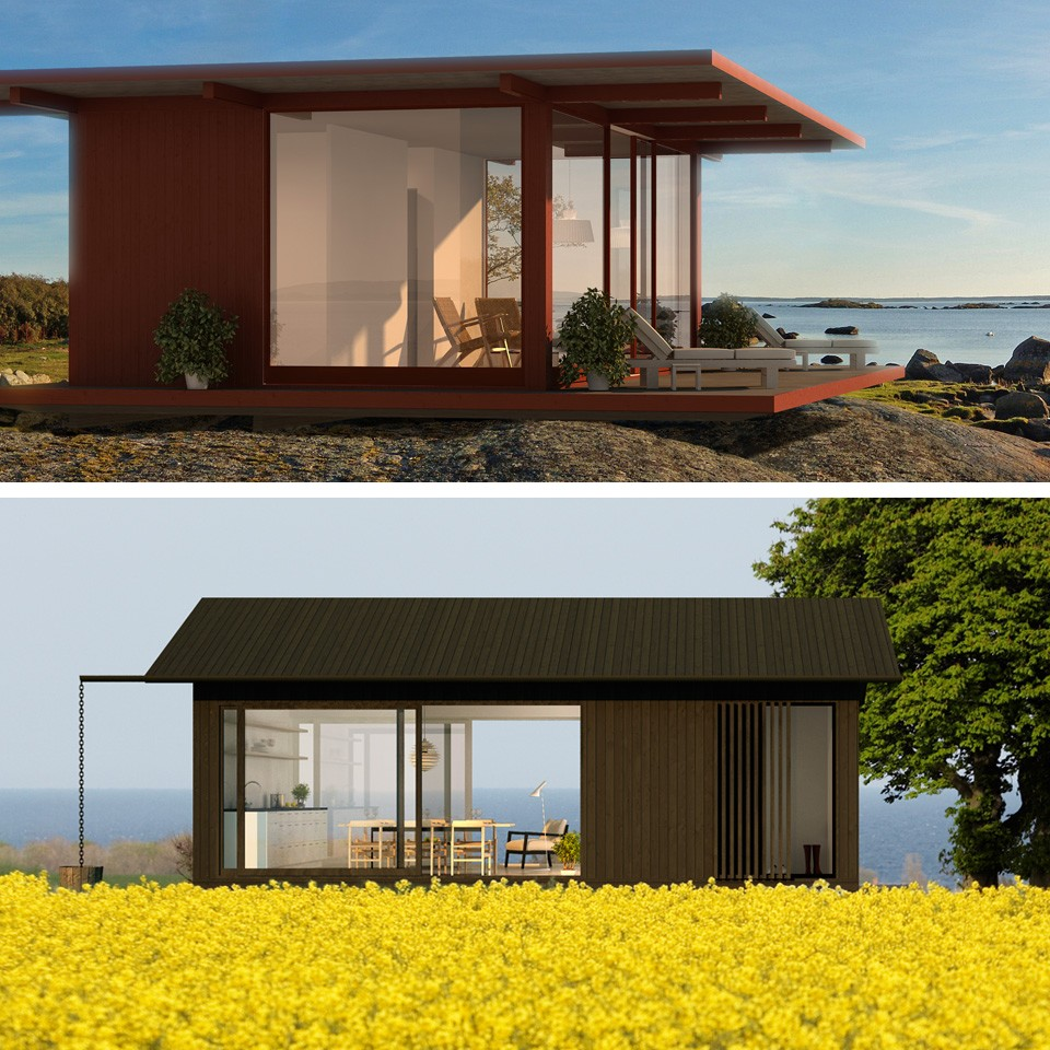 Ideas para peque as casas for Viviendas de campo modernas