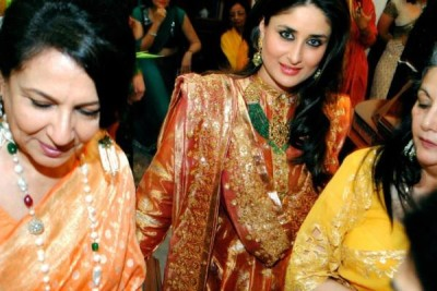 Kareena Kapoor in Wedding of Saif's Cousin ~ Wallpapers