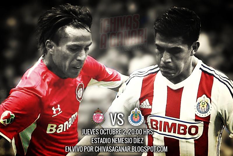 Deportivo Toluca FC vs CD Guadalajara - Jornada 11 Apertura 2014.