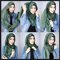 Tutorial Hijab Remaja Terbaru