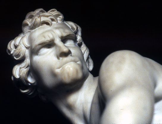 david by michelangelo vs bernini Nudity is divine beauty form which can't be translated as profane davit's proportions and expressions represents a typical of michelangelo work.