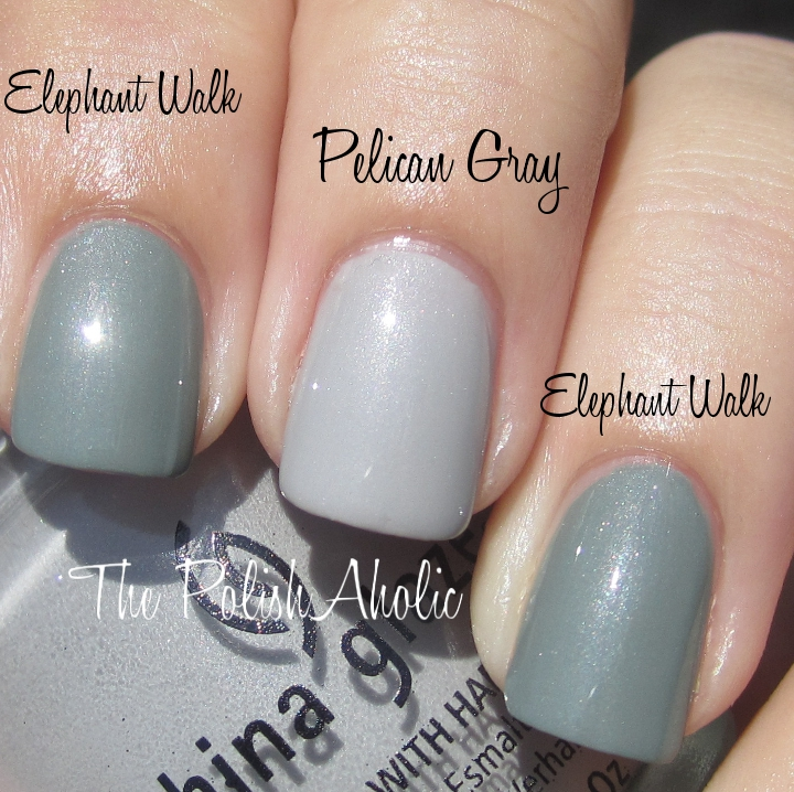 The PolishAholic: China Glaze On Safari Collection Comparisons