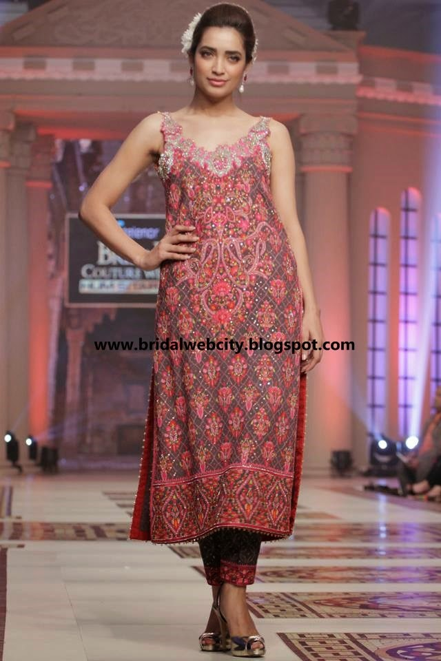 Latest Mehndi Dresses 2015 For Girls and Women www.bridalwebcity.blogspot.com