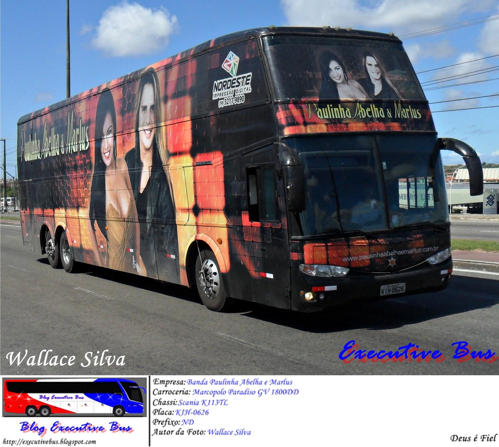 Adesivo Parede Kokeshi ~ Executive Bus Especial u00d4nibus de Bandas