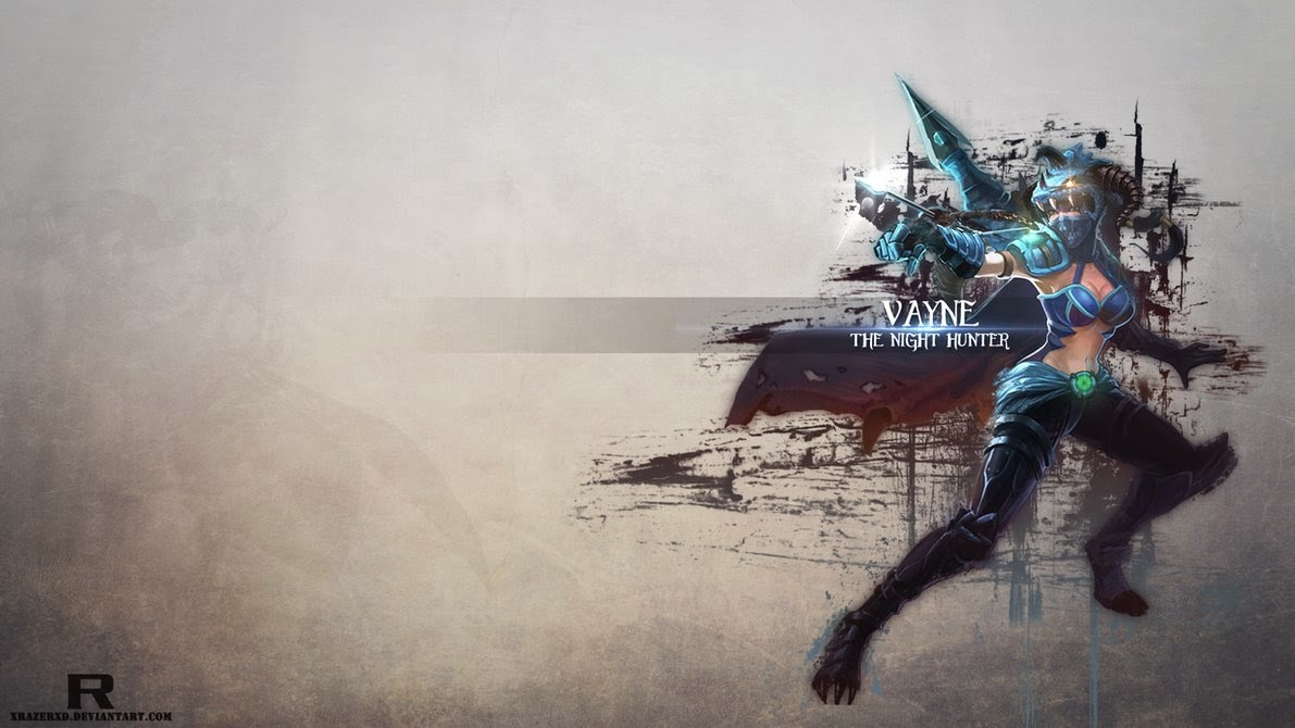 Vayne League of Legends Wallpaper, Vayne Desktop Wallpaper