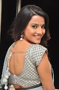 Jyothi seth sizzling saree photos-thumbnail-9
