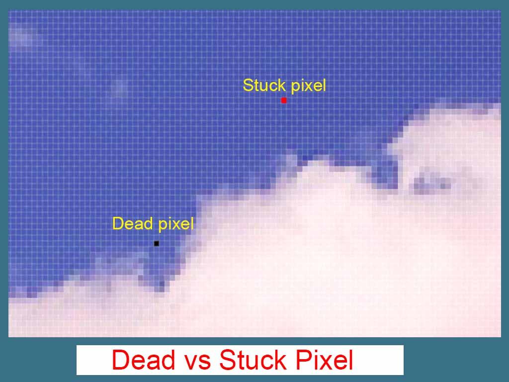 stuck pixel monitor