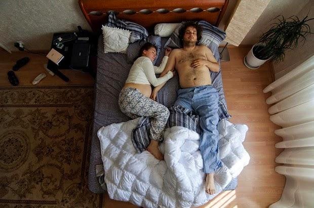 sleeping couples