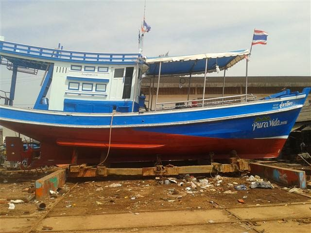 Pura Vida barco koh tao