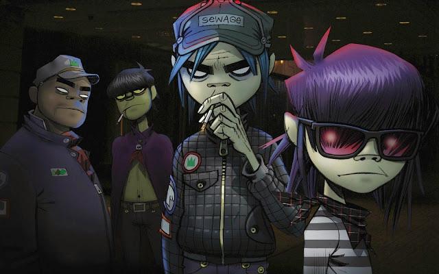 Gorillaz Music