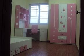 Bộ phòng ngủ bé gái