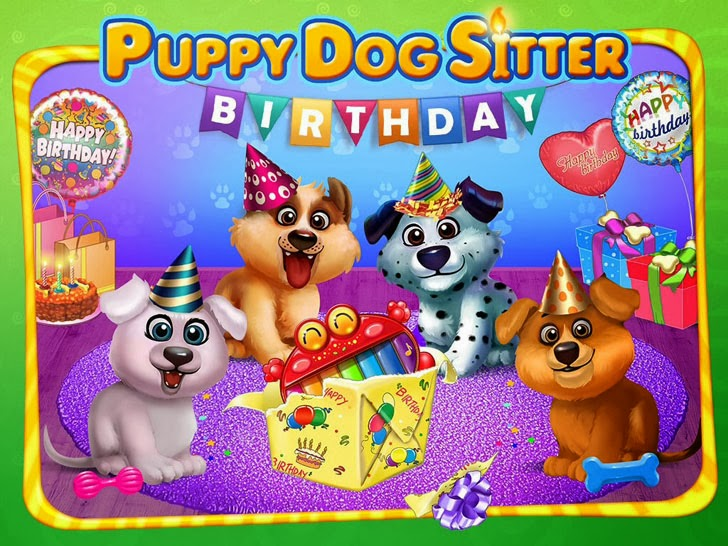 Puppy's Birthday Party - Care, Dress Up & Play! App iTunes App By Kids Fun Club by TabTale - FreeApps.ws