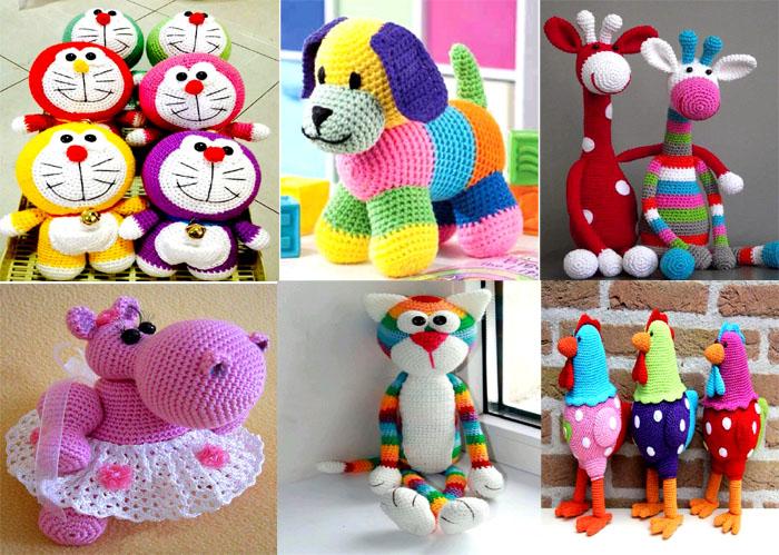 muñecos tejidos en crochet