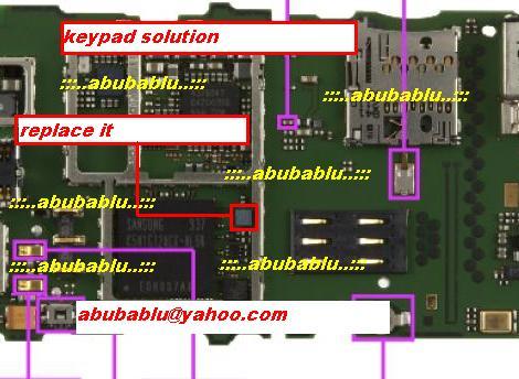 Nokia 6303i keypad problem
