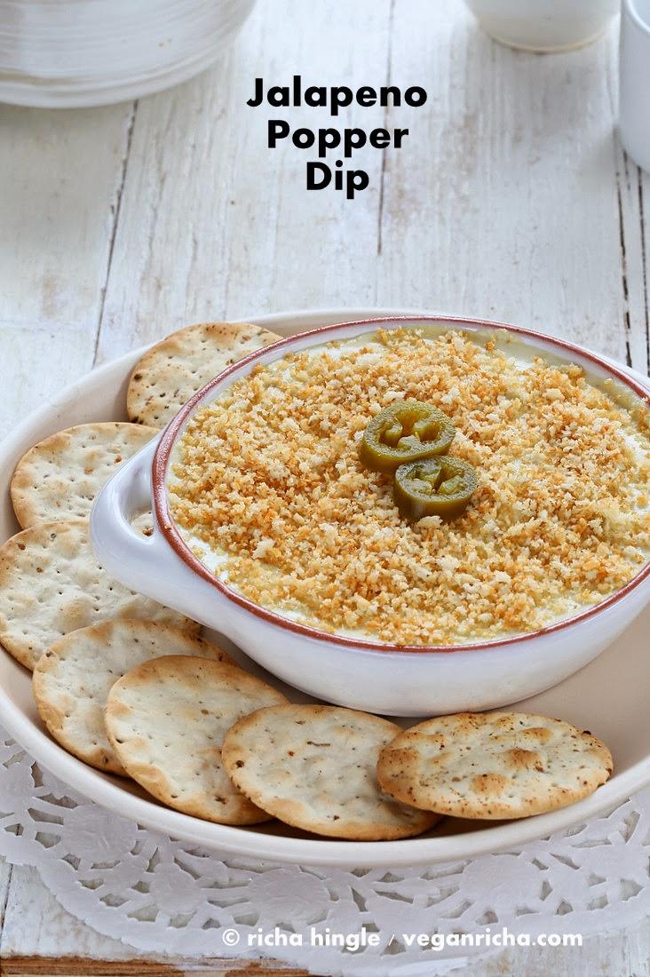 Vegan Jalapeno Popper Dip & Havarti Dip - Glutenfree Recipe Raw option ...