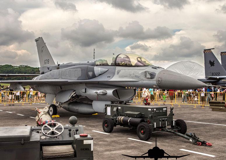 RSAF F-16 Singapore