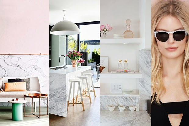 Marble trend in Fashion and Interior - 2015