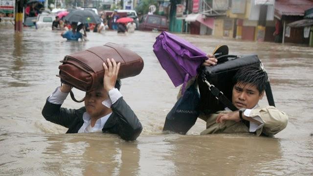 bpo companies working during typhoons
