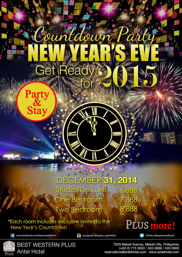 BEST WESTERN PLUS Antel Hotel New Year's Eve
