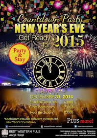 BEST WESTERN PLUS Antel Hotel New Year's Eve