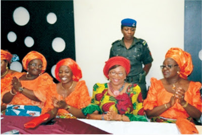 NCWS decorates Akpabio Most Gender Friendly Governor