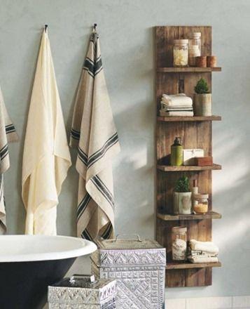 die-wohngalerie: holzregale im bad - der neue trend im badezimmer! - Wandregal Badezimmer Holz