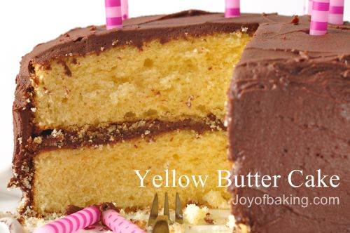 Yellow Butter Cake Recipe: