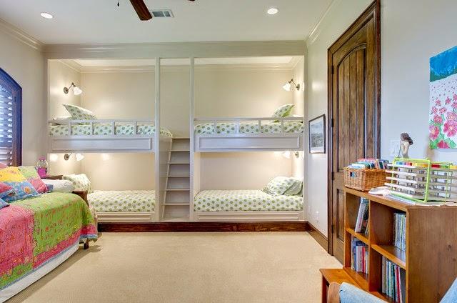Muebles y decoraci n de interiores decoraci n de modernos - Habitaciones para ninos pequenos ...