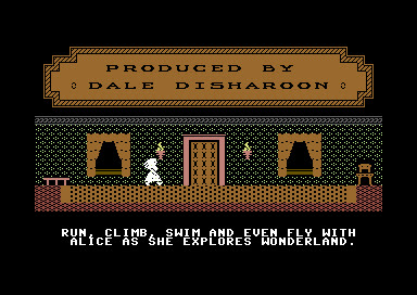 Alice in Wonderland - C64