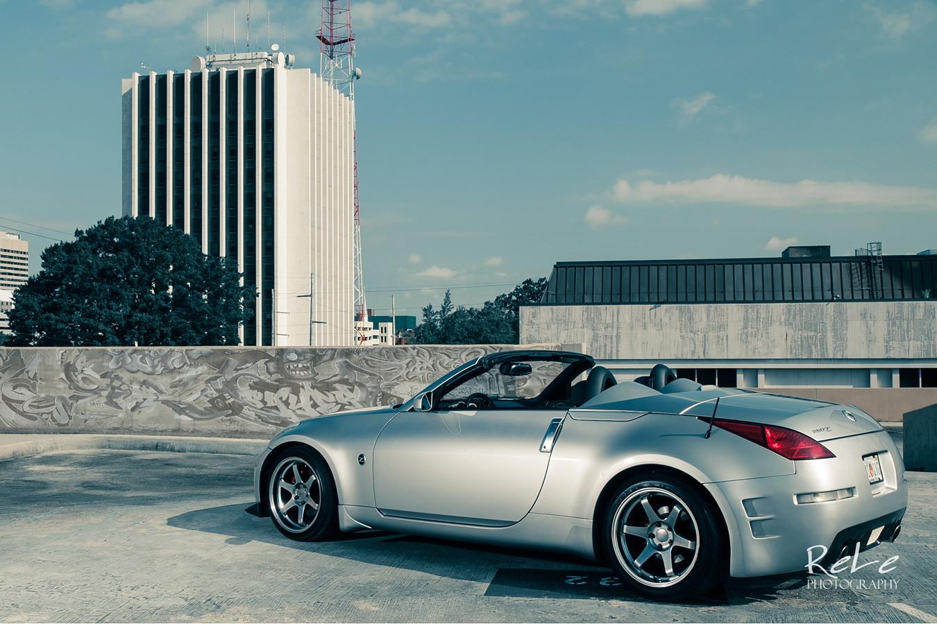 Nissan 350Z Roadster, samochody bez dachu, zdjęcia