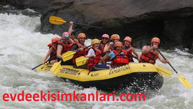 Rafting Tur Şirketi Kurmak