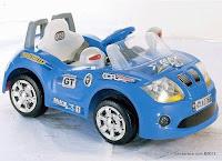 Mobil Mainan Aki Pliko PK8918N in Blue
